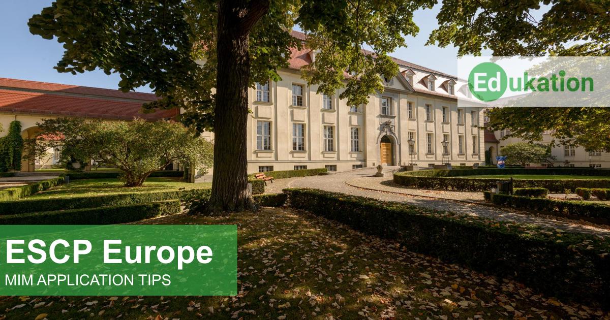 ESCP Europe MIM Edukation Consulting
