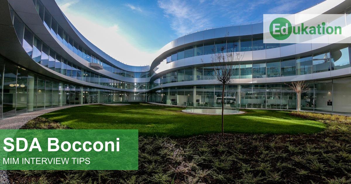 SDA Bocconi MIM Edukation Consulting